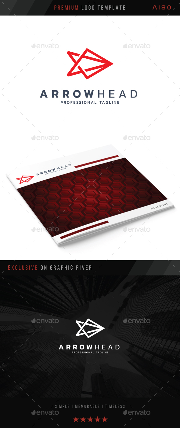 Arrow Head Logo - Abstract Logo Templates