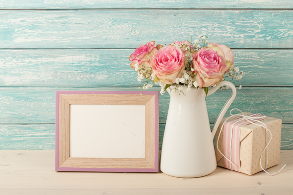 Retro style greeting card - Stock Photo - Images