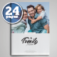 Family Album Template - GraphicRiver Item for Sale
