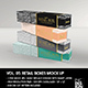 Retail Boxes Vol.5: Narrow Cosmetic or Perfume Box Packaging Mock Ups - GraphicRiver Item for Sale