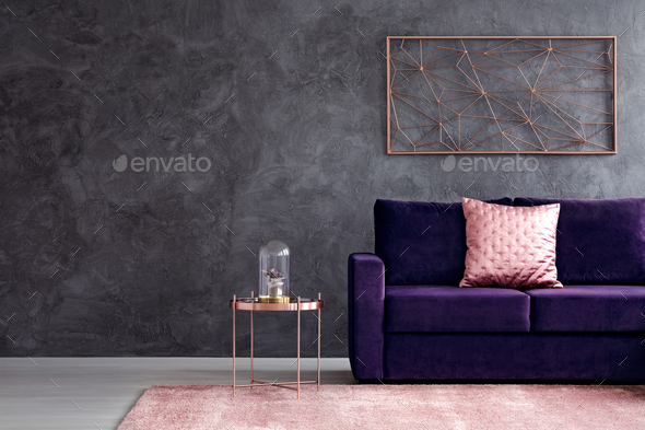 Sophisticated living room interior - Stock Photo - Images