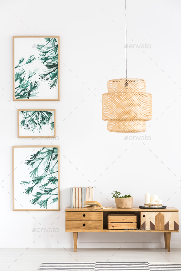 Simple living room interior - Stock Photo - Images