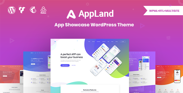 Appland - Creative App Showcase WordPress Theme