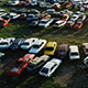 Cars on Wrecking Yard - VideoHive Item for Sale
