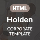 Holden Corporate HTML Template - ThemeForest Item for Sale