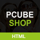 Pcube Shop Ecommerce HTML5 Template - ThemeForest Item for Sale