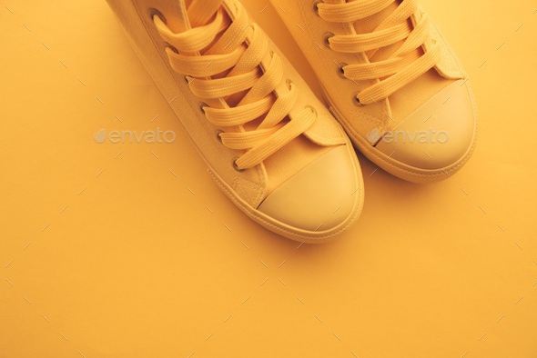 Sneaker shoes for youth lifestyle concept - Stock Photo - Images