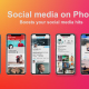 Social Media on Phone - VideoHive Item for Sale