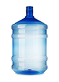 Big plastic bottle close-up isolated on a white background. - PhotoDune Item for Sale
