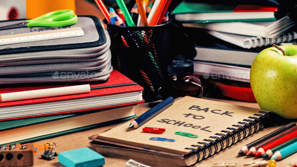 School Supplies - Stock Photo - Images