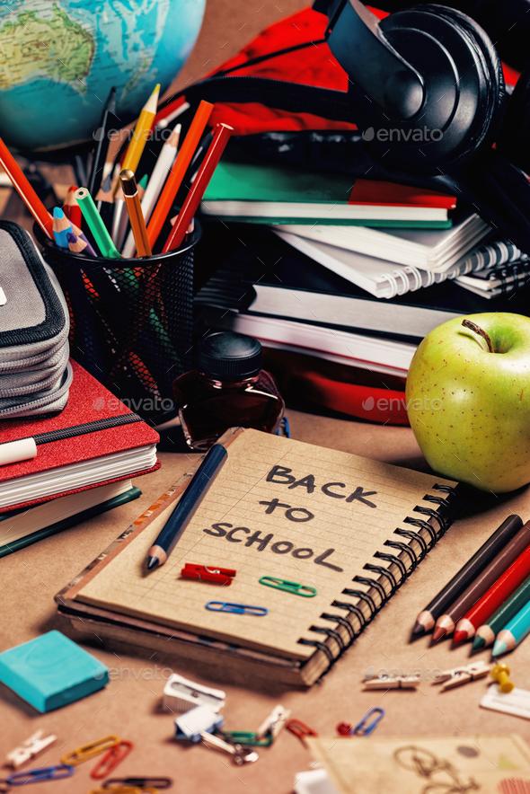 School Supplies - Stock Photo - Images
