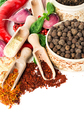 Spices and seasonings close-up as a background. - PhotoDune Item for Sale