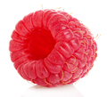 Ripe raspberry isolated on a white background. - PhotoDune Item for Sale