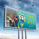 Travel Billboard - GraphicRiver Item for Sale
