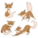 Set of Cartoon Cats - GraphicRiver Item for Sale