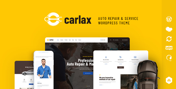Carlax | Car Parts Store & Auto Service WordPress Theme - Retail WordPress