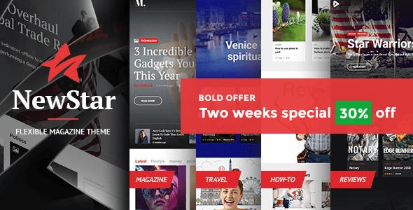NewStar Magazine – News Magazine Theme