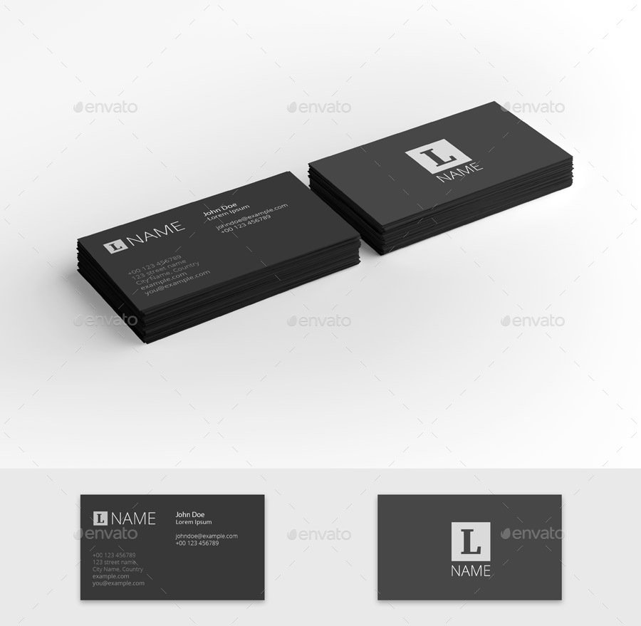 Business card presentation template by iunewind graphicriver business card presentation template business cards print 01buis preview1g flashek Gallery