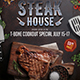 Steak House Flyer & Poster - GraphicRiver Item for Sale