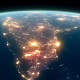 4K Earth Night Close Up High Detail India - VideoHive Item for Sale