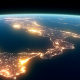 4K Earth Night Close Up High Detail Italy - VideoHive Item for Sale