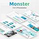 Monster Premium 3 in 1 Bundle Google Slide Template - GraphicRiver Item for Sale