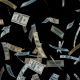 4K Money Raining Seamless Loop - VideoHive Item for Sale