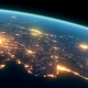 4K Earth Night Close Up High Detail Turkey and Cyprus - VideoHive Item for Sale