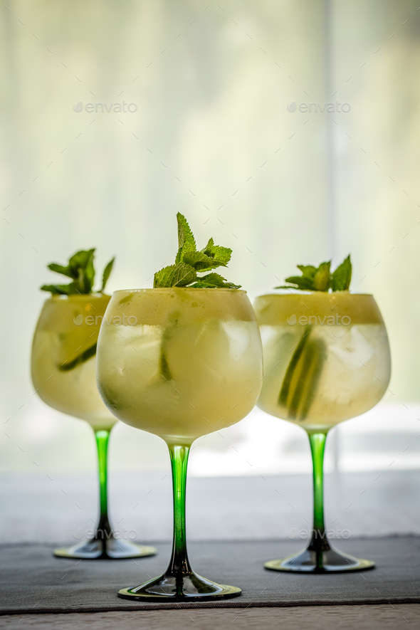 Fresh cocktails - Stock Photo - Images
