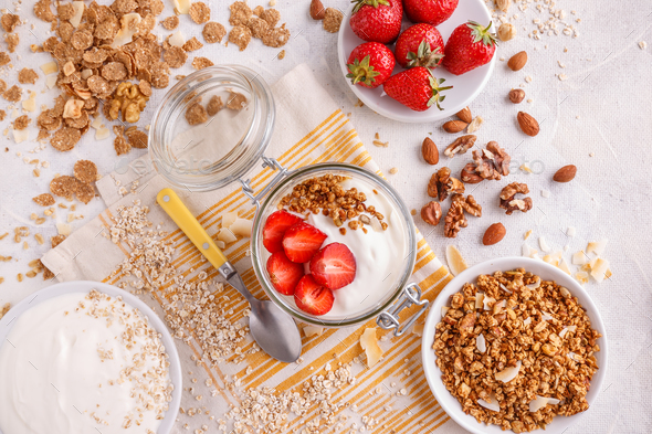 Healthy breakfast concept - Stock Photo - Images