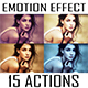 15 Emotional Photoshop Actions