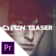 Glitch Teaser - VideoHive Item for Sale