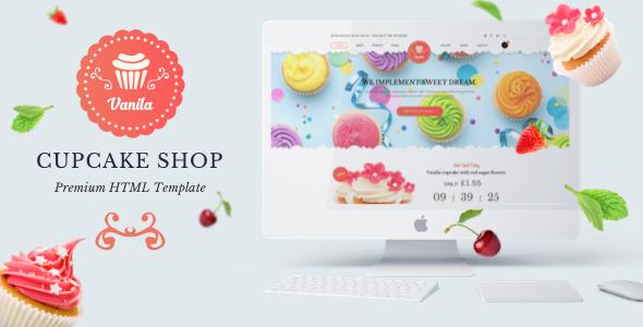 Bakery - Vanila  Cakery & Bakery HTML5 Template - Food Retail