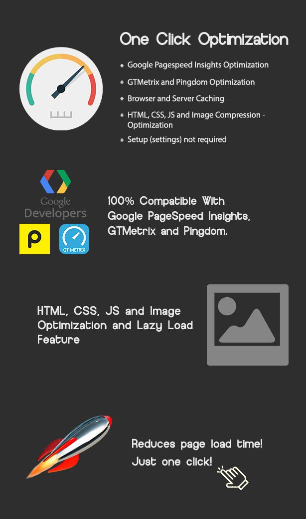 One Click - WordPress Speed & Performance Optimization by divcoderPlugins