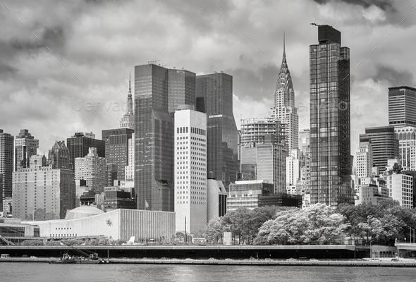 New York City skyline, USA. - Stock Photo - Images