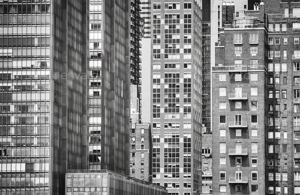 New York City architecture, USA. - Stock Photo - Images
