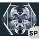 VJ Loops Neon Skull Lights Ver.1 - 3 Pack - VideoHive Item for Sale
