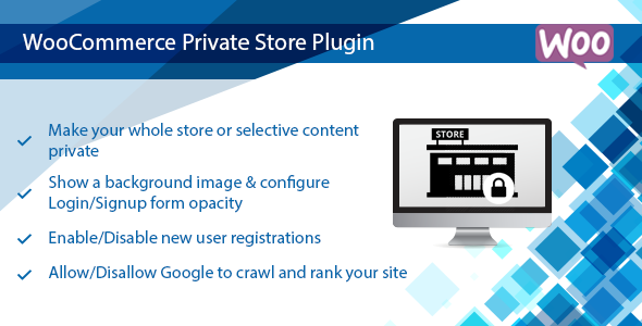 WooCommerce Private Store Plugin | Shop for Registered User Only            Nulled