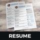 Resume & Cover Letter Design v1 - GraphicRiver Item for Sale