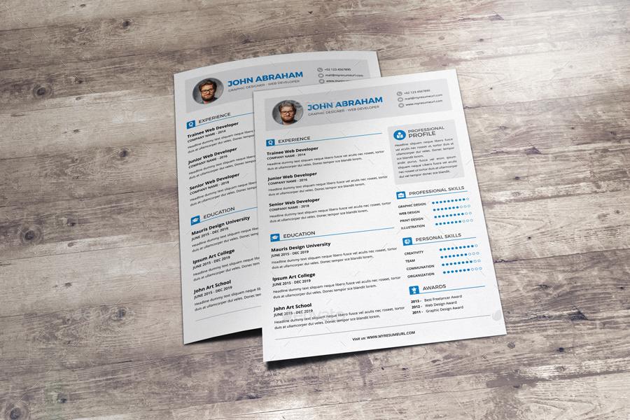 resume  u0026 cover letter design v1 by jbn