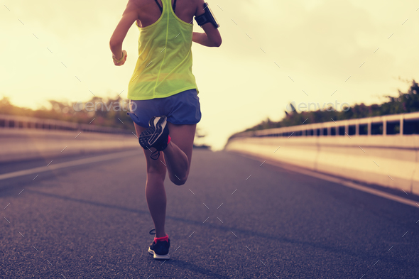 Running on road - Stock Photo - Images