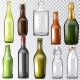 Bottle Glass Vector Glassware