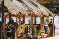 beach gazebo with palm leaves - PhotoDune Item for Sale