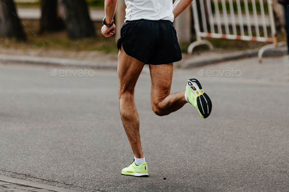 men jogger athlete - Stock Photo - Images