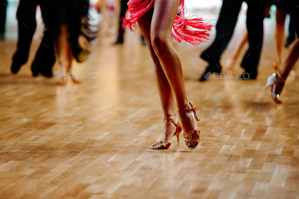 feet woman dancer - Stock Photo - Images