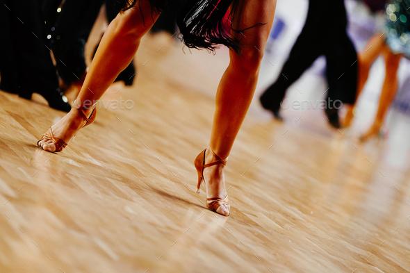 legs woman dancer - Stock Photo - Images