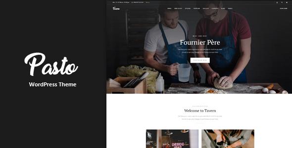 Pasto - Restaurant & Cafe Responsive WordPress Theme