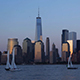 New York Skyline at Sunset - VideoHive Item for Sale