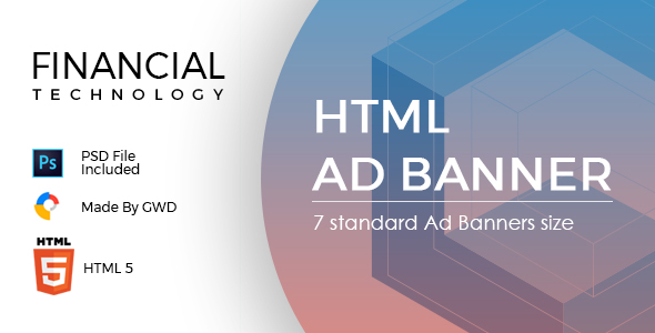 Financial Technology Ad Banners            Nulled