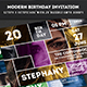 Birthday Invitation - GraphicRiver Item for Sale